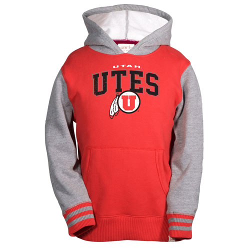 Youth Utah Utes Athletic Logo Sweatshirt