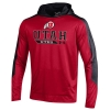 Under Armour Utah Athletic Logo Hooded Red Sweatshirt