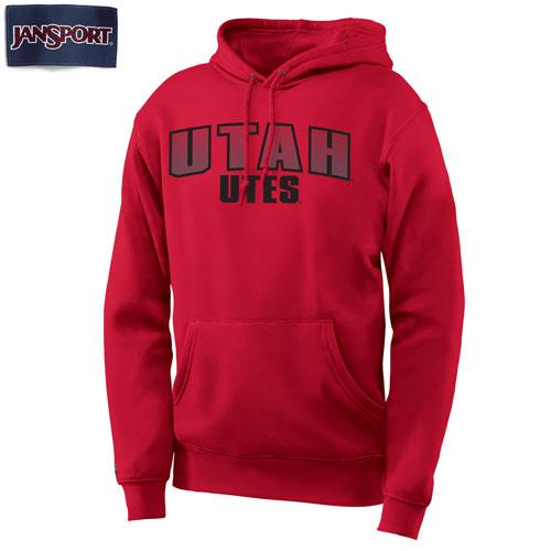Jansport Reflective Ink Utah Utes Hooded Sweatshirt