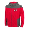 Colosseum Youth Athletic Logo Full Zip Fleece Jacket