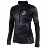 Under Armour Womens Half Zip Tie Dye Warm Up