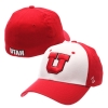 Zephyr Block U Red and White Fitted Hat