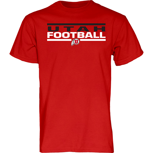 Utah Utes Men's Football T-shirt