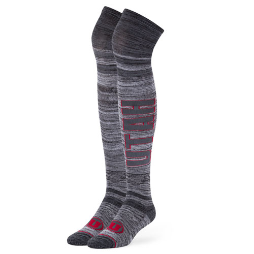 47 Brand Over the Knee Utah Athletic Logo Socks