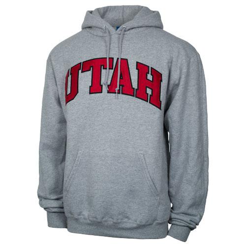 Champion Bold Lettering Utah Hooded Sweatshirt