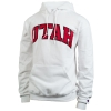 Champion Bold Lettering Utah Hooded Sweatshirt thumbnail