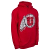 Blue 84 Tribal Pattern Athletic Logo Hooded Sweatshirt