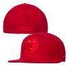 New Era Red Out Athletic Logo Fitted Hat