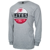 Techstyles Utes 1850 Circle Logo Long Sleeve Tee