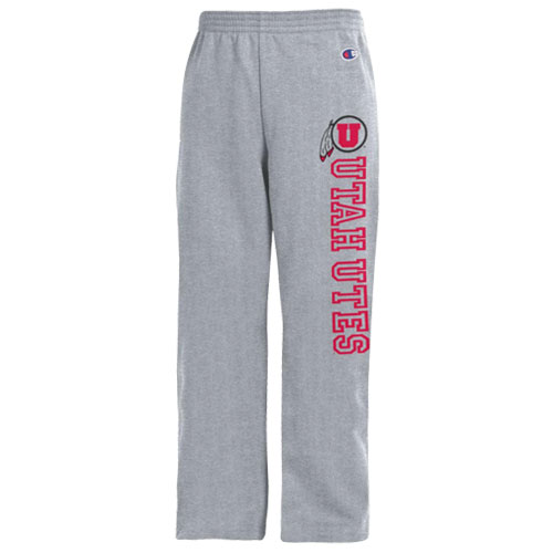Champion Utah Utes Athletic Logo Youth Sweatpants