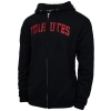 Russell Utah Utes Full Zip Hooded Sweatshirt