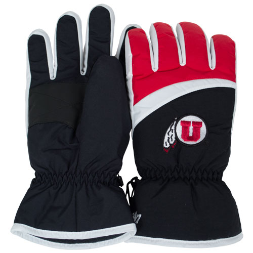 47 Brand Athletic Logo Ski Gloves