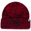 47 Brand  Interlocking U Red and Black Beanie