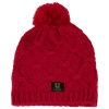 Zephyr Colorado Collection Block U Utah Red Knitted Beanie