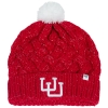 47 Brand Interlocking U Knit Pom Beanie