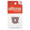 Rhinestone Block U Face Sticker