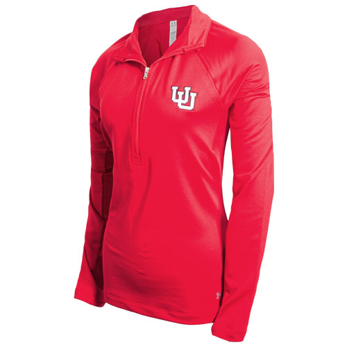 Womens Utah Interlocking U Under Armour Half Zip