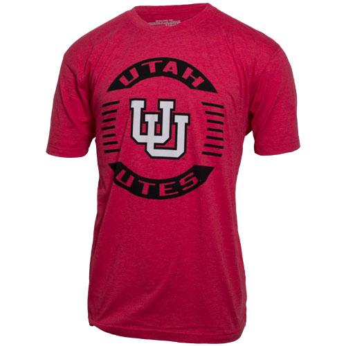 Utah Utes Colosseum Interlocking U Circle T-Shirt