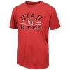 Colosseum Utah Utes Interlocking U Youth T-Shirt