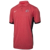 Nike Heathered Two-tone Athletic Logo Polo