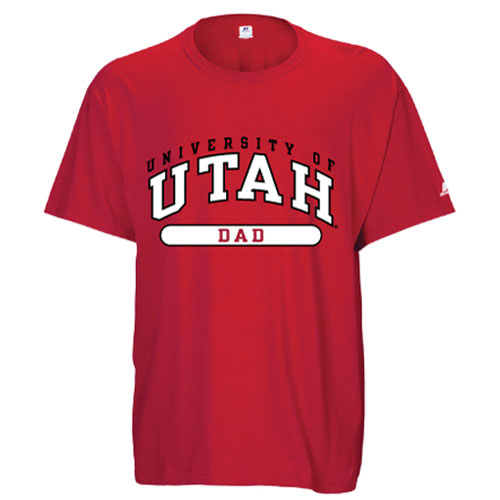Russell Athletic University of Utah Dad Tee