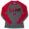 Colosseum Youth Long Sleeve Utah Utes Athletic Logo T-Shirt