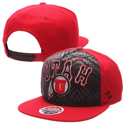 Zephyr Polynesian Warrior Athletic Logo Adjustable Hat