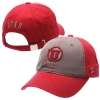 Zephyr Red and Grey Athletic Logo Utah Hat