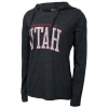 Gear University of Utah Womens Tri-Blend Hooded Shirt
