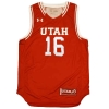 Running Utes Basketball Jersey Youth Number 16