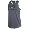 Under Armour Utah Utes Athletic Logo Charcoal Womens Tank