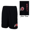 Under Armour Utes Athletic Logo Running Shorts