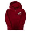 Athletic Logo Youth Full Zip Hoodie