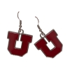 Block U Dangle Earrings