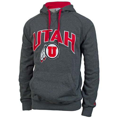 Champion Athletic Logo Utah Utes Hooded Sweatshirt