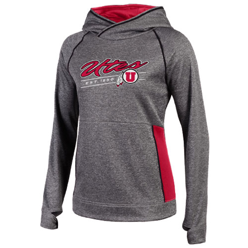 Champion Utes Est. 1850 Women's Hooded Sweatshirt