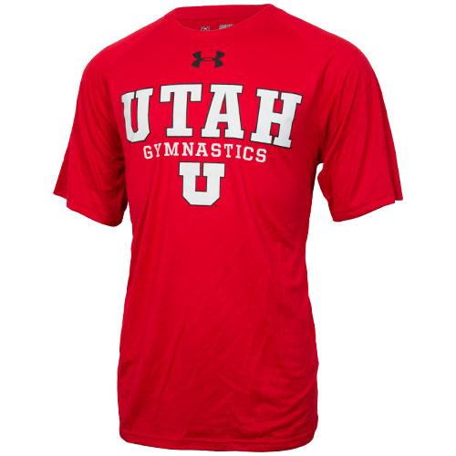 Utah Block U Gymnastics Loose Fit Under Armour Tee