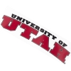 University of Utah Small Banner Decal
