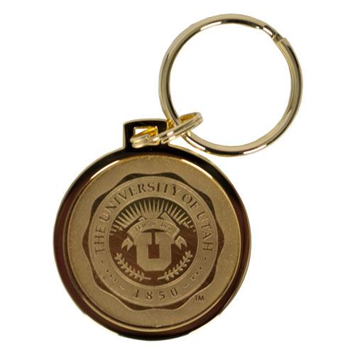 The University of Utah Medallion Keyring