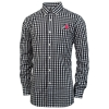 Antigua Athletic Logo Check Pattern Dress Shirt