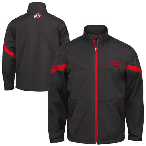 GIII Utah Soft Shell Black Jacket