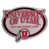 University of Utah Established 1850 Athletic Logo Magnet