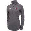 Under Armour Womens Athletic Logo Striped Half Zip