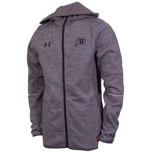 Under Armour Athletic logo Grey Men Hooded Jacket