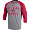 Under Armour Utah Utes Interlocking U Baseball Tee