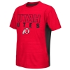 Colosseum Utah Utes Athletic Logo Black Side Youth T-Shirt
