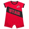 Colosseum Utah Athletic Logo Romper Onesie