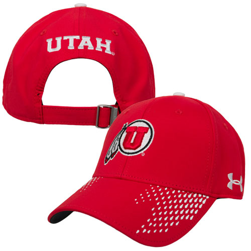 Under Armour Athletic Logo Red Adjustable Hat