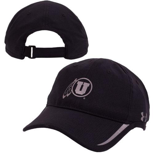 Under Armour Black Athletic logo Men Adjustable hat