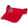 Under Armour Athletic Logo Red Mens Adjustable Visor